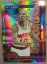 93/94 Topps Finest Sam Cassell Rookie Refractor.Houston Rockets.