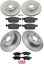 FOR FORD KUGA 2.0 TDCi (2013-2017) FRONT & REAR BRAKE DISCS & PADS SET NEW