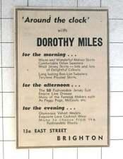 1958 Dorothy Miles Womenswear 13 East Street Brighton