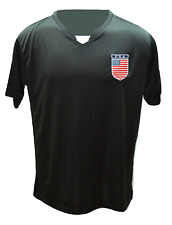 USA Soccer Team Shield Logo Performance Microfiber Short Sleeve Soccer Jersey