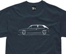 T-shirt for golf mk1 fans classic german hatchback gti tuning tshirt