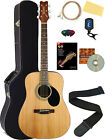 Jasmine S35 Dreadnought Acoustic Guitar - Natural w/ Hard Case for sale