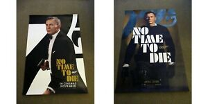 No Time To Die ORIGINAL D/S one sheet poster James Bond 007 2x 2020 versions
