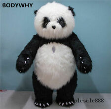 2m Inflatable Chinese Panda Bear Mascot Costume Adult Cosplay Party Advertising