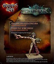 Avatars of War: Dark Elf Sorceress - AOW08 -Warhammer Character
