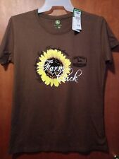 "JOHN DEERE - WOMEN'S T-SHIRT - ""FARM CHICK""  -  XL  -  NEW with TAGS"