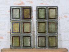 1/2 schöne alte Bleiverglasung Bleiglas Jugendstil Gründerzeit Vintage antik