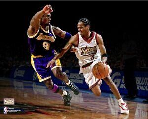 Allen Iverson Philadelphia 76ers vs Kobe Bryant 11x14 Photo Picture Poster Laker