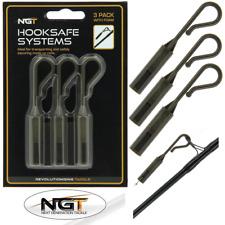 NGT Crochet Sécurité Systèmes Crochet Protections pour made up Carp rods et plates-formes Pack de 3