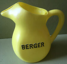 PICHET POT A EAU BERGER anisette MADE IN FRANCE MODELE DE BISTROT EN PLASTIQUE
