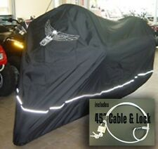 High Quality Harley Davidson Motorcycle Cover, Cable and Lock, Eagle Logo