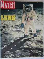 PARIS MATCH 1058 Premier Pas Homme sur la Lune