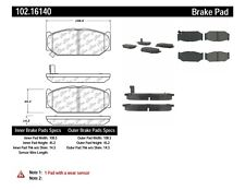 Disc Brake Pad Set-GA Front Centric 102.16140