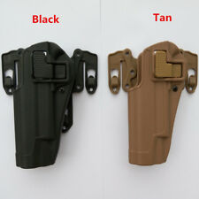 Tactical Military Army Air Soft Fit Chest Waist Leg Paddle Holster for 1911