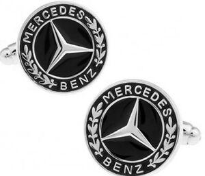 Mercedes Benz Cufflink - Free Gift Box & Free UK P&P