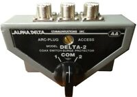 ALPHADELTA DELTA-2B 2-Position Coax Switch with SO-239 (UHF) Connectors