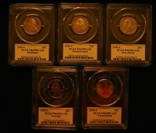 1999S-2009S Clad State Quarter and DC & Territoory PCGSPR69DCAM 56 Coins w/box