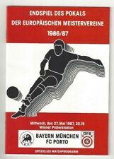 Europa Cup 1 Final 1987 FC Porto - Bayern München 2-1 DVD Full Match