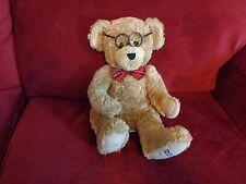 2002 DILLARDS CHRISTMAS THEODORE 100TH ANNIVERSARY TEDDY BEAR PLUSH DOLL FIGURE
