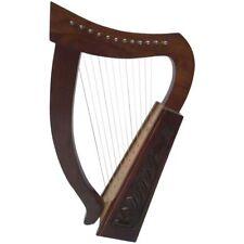 HM IRISH HARP 12 STRING SHEESHAM WOOD/CELTIC HARP ROSE WOOD/12 Cuerdas Arpa