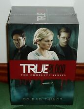 TRUE BLOOD-1-7 SERIE COMPLETA-PRECINTADO-NUEVO-NEW-SEALED-33 DISCOS DVD-SERIES