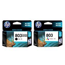 HP 803 Original Ink Cartridge - Black and Tri-Color for deskjet1112 2131 2132