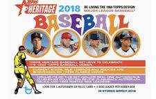 Most .50 Cents! 2018 Heritage Action Insert SP Chrome You Pick Complete Your Set