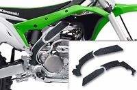 Custom MX Motocross Kawasaki KX 250F 2017 Black Frame Guard Grip Tape Decal Kit