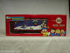 LGB 43916 PEANUTS WE WISH MERRY CHRISTMAS BOXCAR HAPPY NEW YEAR LIMITED RARE