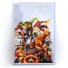 (1) Mini Movie Poster Art Comic Print 11X17 Clear Rigid Toploader Holder