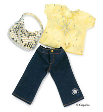 """Doll Clothes AG 18"""" Pants, Blouse, Purse Carpatina Made To Fit American Girl"""