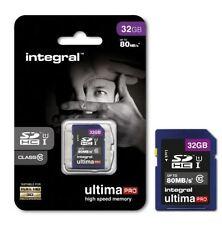 Schede di memoria per fotocamere e videocamere SDHC da 32 GB