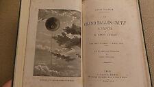 Universal Expo Paris 1878 Grand Ballon Captif Henry Giffard w Souvenir Medal VG