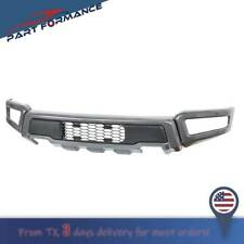 GRAY Raptor Style Steel Front Bumper Assembly Kit For F-150 2018 2019 2020