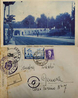 J) 1940 ITALY OCCUPATION IN ALBANIA, REGISTERES, OPEN BY EXAMINER, MULTIPLE STAM
