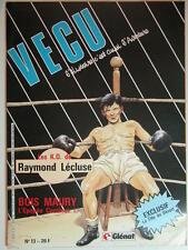 VECU N°13 MARS 1986   (JUILLARD,HERAMNN,BOILET,BLANC,ADAMOV...)