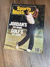 "Michael Jordan Sports Illustrated - Bulls ""Jordan Golf"" cover 1989 - NO LABEL"