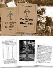 Herman Wirth: Der Aufgang der Menschheit in 2 Bänden - Festeinband - Neu