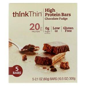 Think Thin High Protein Bars Chocolate Fudge