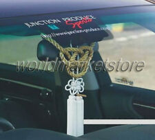 NEW VIP CHARM JUNCTION PRODUCE CAR FUSA WHITE KIKU JP KNOT & GOLD KIN TSUNA ROPE