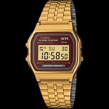 CASIO GOLD TONE DIGITAL UNISEX WATCH A159WGEA-5A