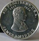 JAMES MONROE 5TH PRESIDENT 1817-2  ALUMINUM TOKEN