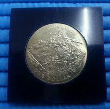 1970 Royal Visit to New Zealand Mount Cook One Dollar Commemorative Coin