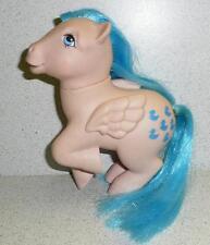 1983 My Little Pony Pegasus Ponies SPRINKLES Pink W/Blue Duck Design
