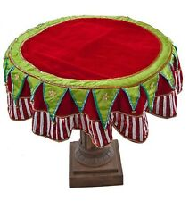 """Katherine's Collection Cirque Table Cover Noel Christmas 54"""" 14-614032 NEW"""