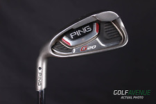 Ping G20 Iron Set 4-PW and UW Regular Left-Handed Steel Golf Clubs #3727