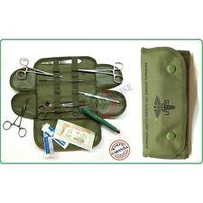 Kit Medico Chirurgico Militare Originale Tasca Medica Soccorso Sanitario First