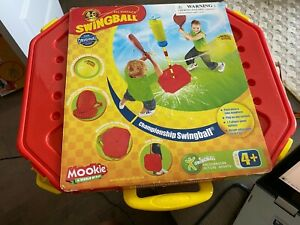 Mookie Swingball Classic Swingball Tetherball Set Portable Tetherball Blue Red
