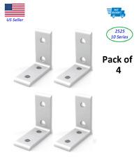 10 Series Aluminum 4 Hole Inside Corner Bracket 2525 Series