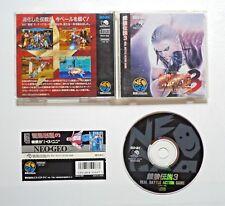 NEO GEO CD GIOCO-Fatal Fury 3-completamente in guscio